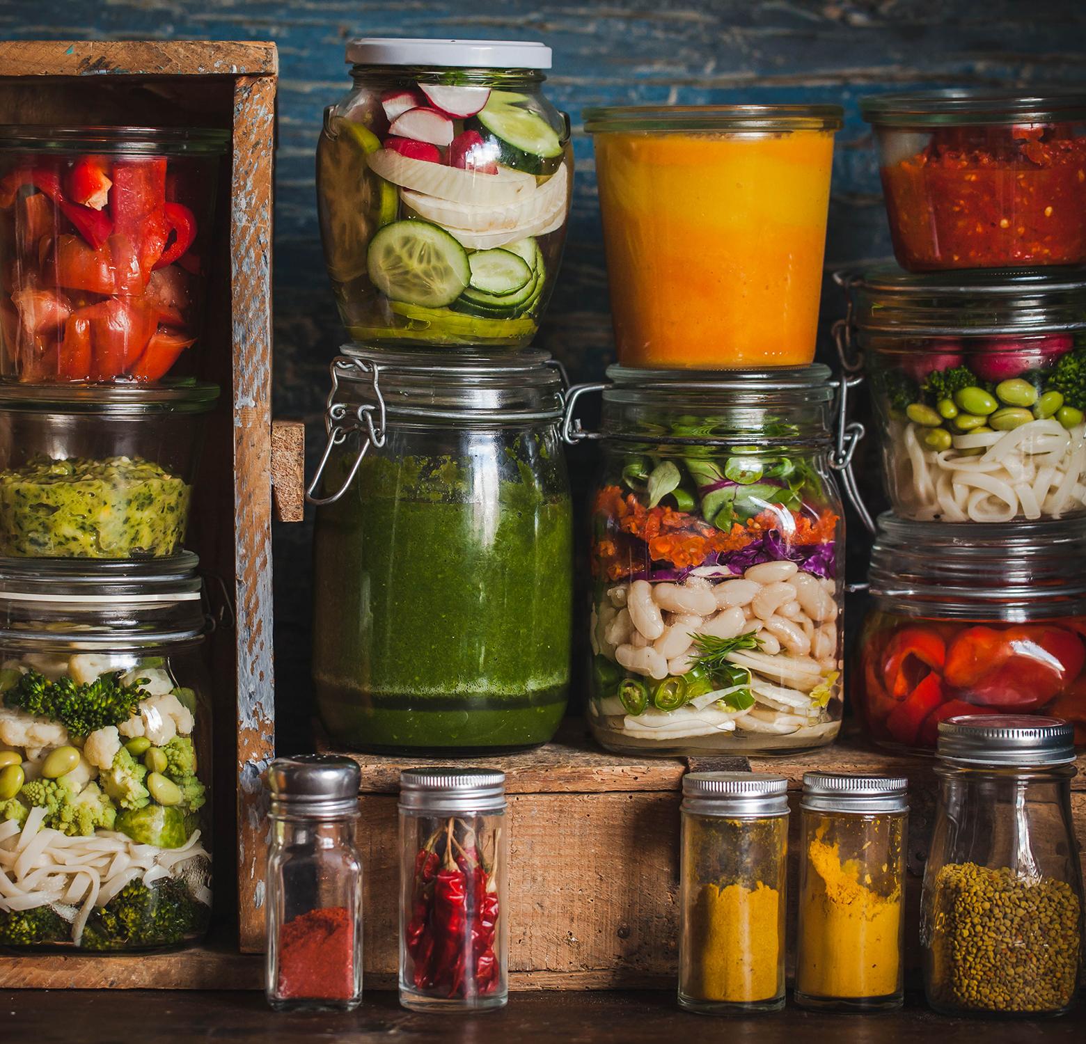 Healthy trendy food