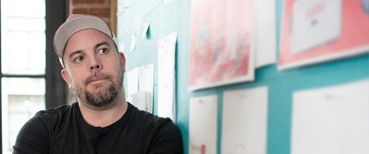 Phil Jones, le Directeur de création de l'Agence Braque