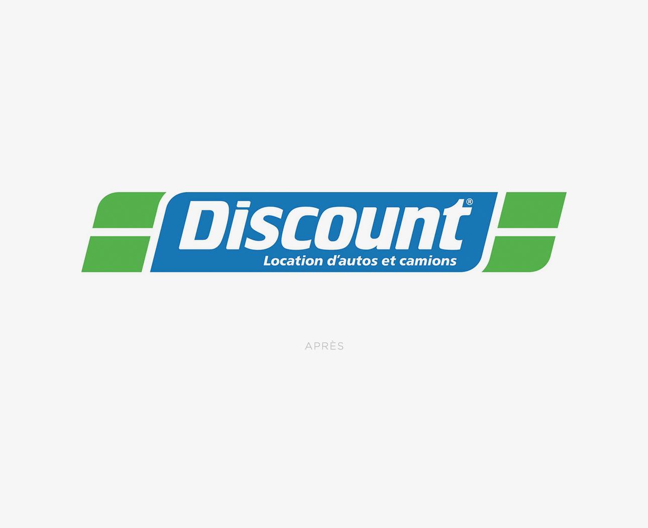Nouveau logo de Discount