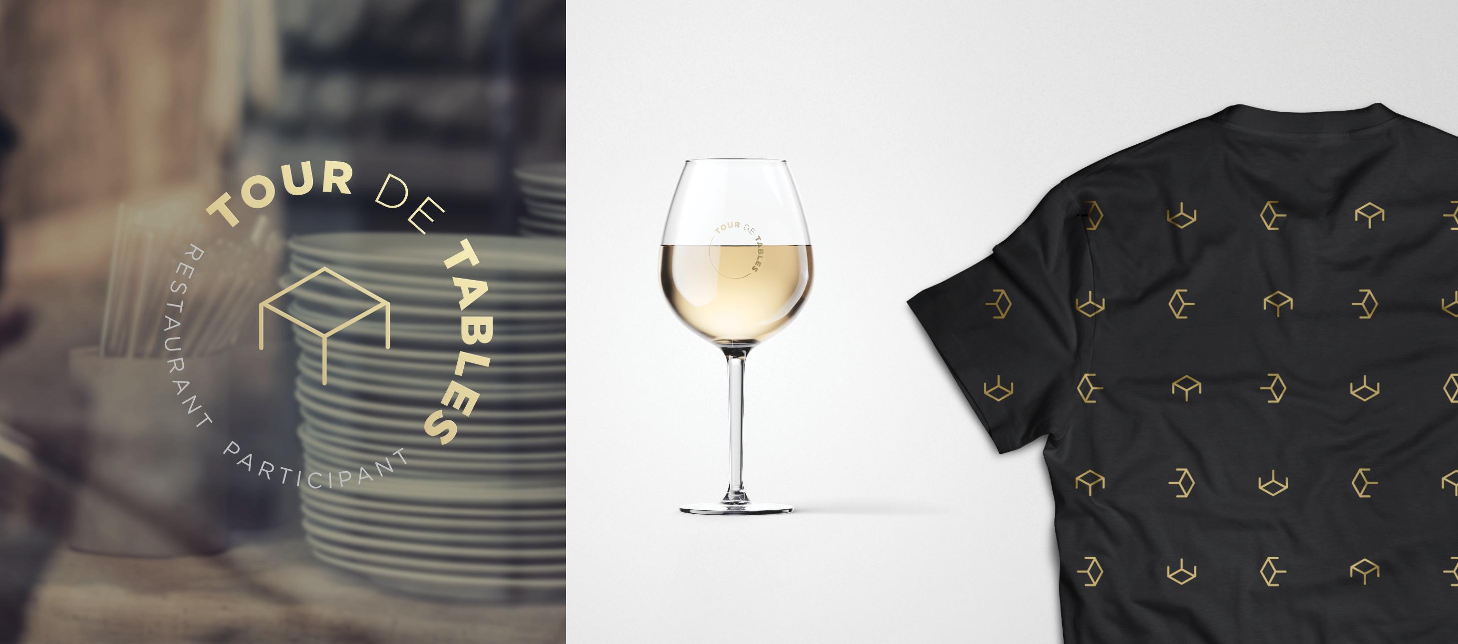 L'Agence Braque a développé l'image de marque de Tours de Tables