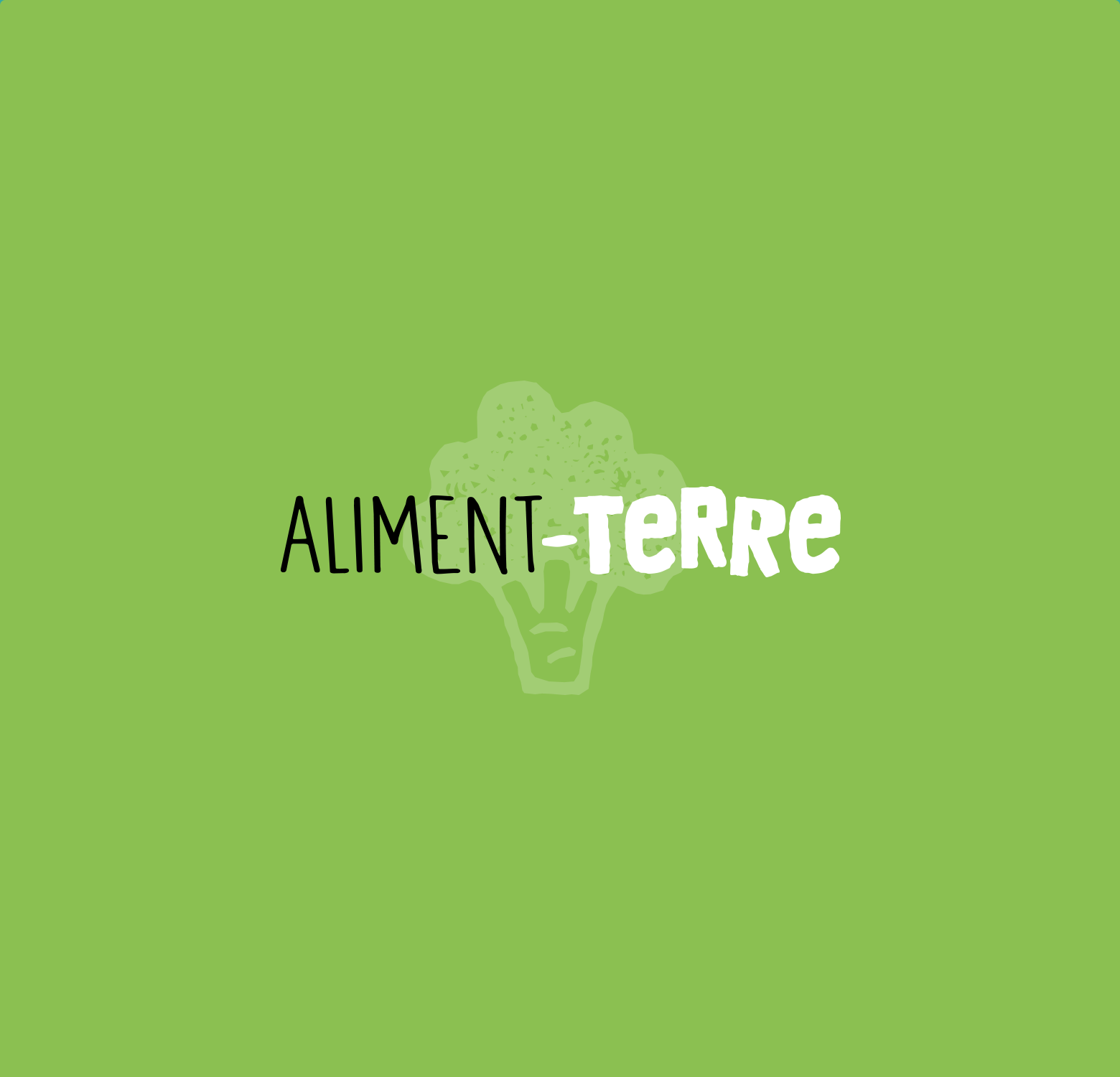 Identité visuelle Alternative Aliment-Terre