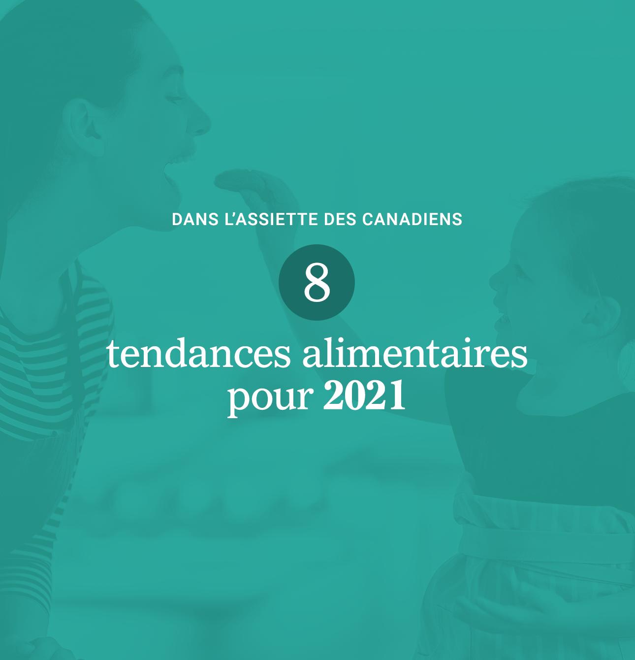 Couverture du livre blanc de Braque sur les tendances alimentaires 2021